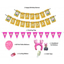Peppa Pig Party Supply Combo Set