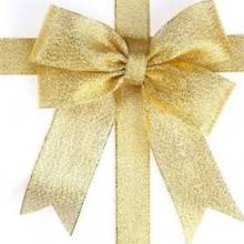 Golden Tissue Ribbon