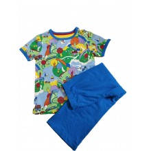 Colourful Print Cotton Nightwear (5-7 Year)