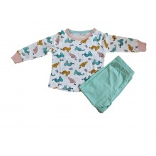 Animal Print Cotton Nightwear (2 Year Child)