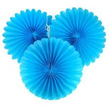 Paper Fan- Blue