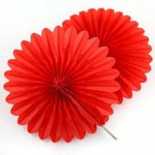 Paper Fan- Red