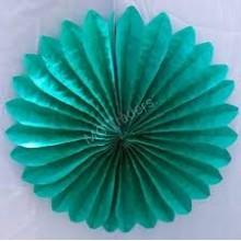 Paper Fan- Green