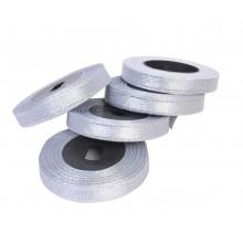 Silver Tissue Ribbon