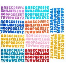 Glitter Stickers-Alphabets