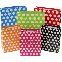 Polka Paper Goody Bag (Assorted Colour)