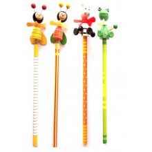 Pencil with Toy top