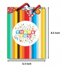 Rainbow Paper Goody Bag